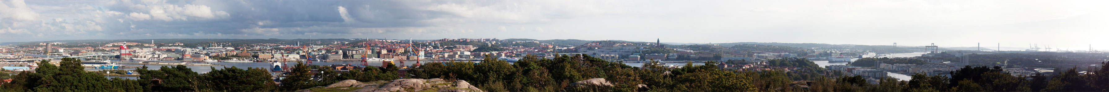 Panorama picture of Gothenburg